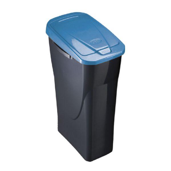 Cubo Ecobin 25l. tapa azul